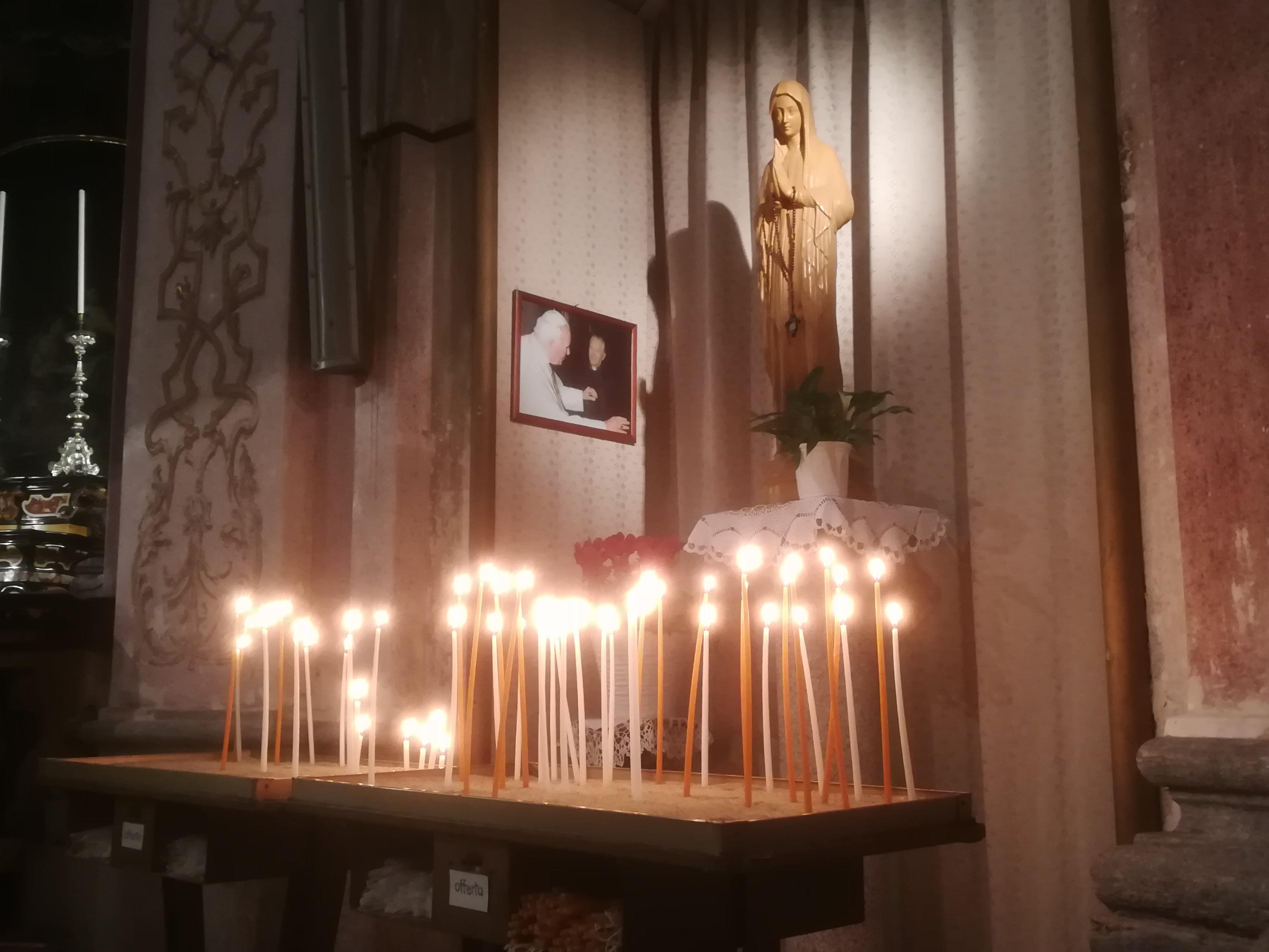 Le candele dell'adesione